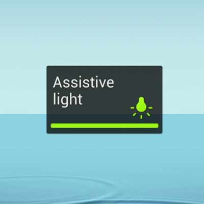Assistive light or flashlight youtube