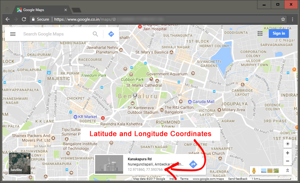 How to plot longitude and latitude coordinates on a map : Release